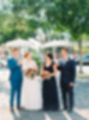 Brisbane Bridal Party with Roaring Twenties Vintage Car Hire Umbrellas
