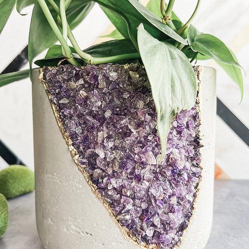 Amethysts Medium Planter