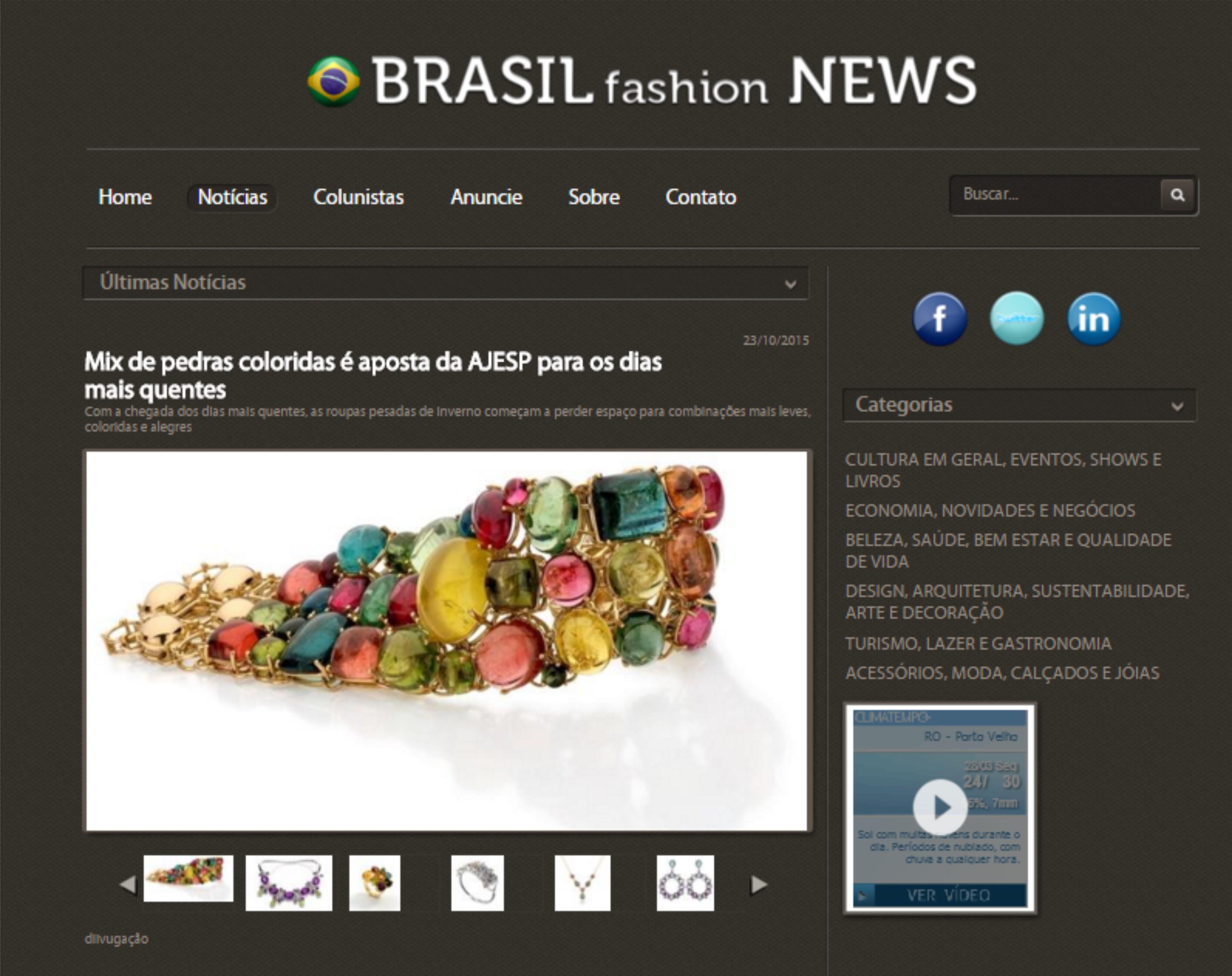 23/10/2016 | Brasil Fashion News