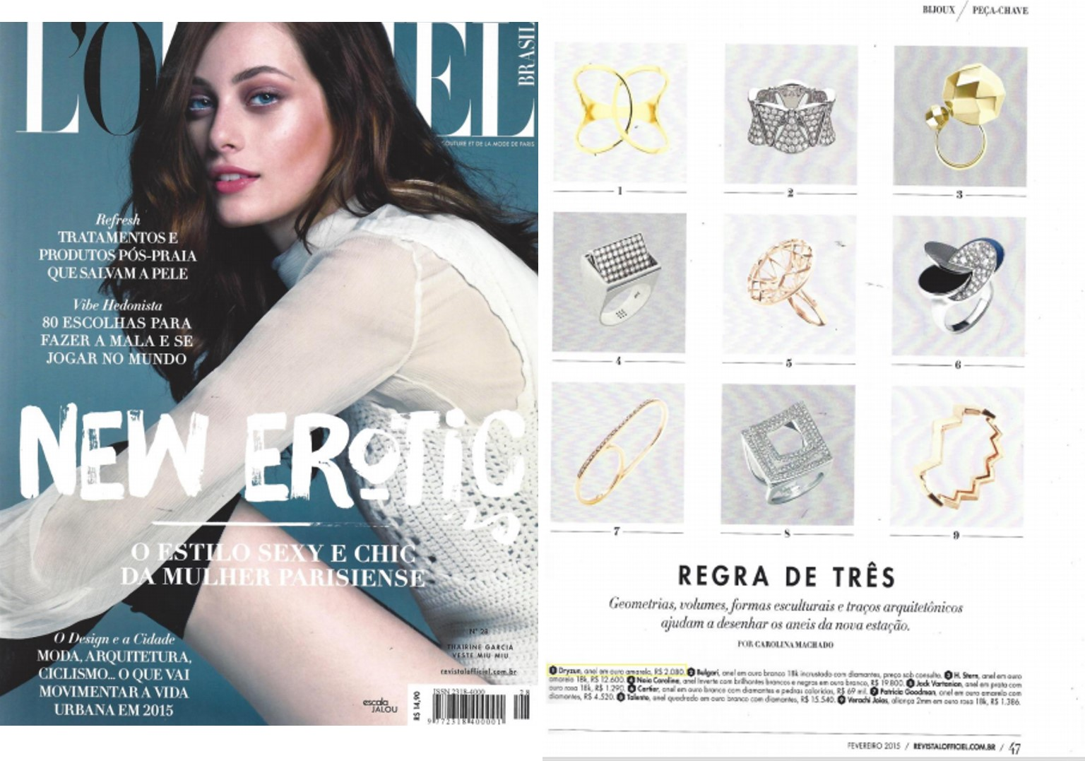 Fev 2015 | Revista L'officiel