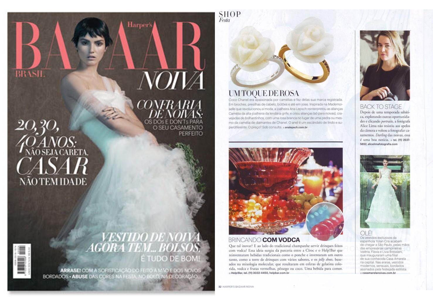 Jun 2015 | Bazaar Harpers Noivas