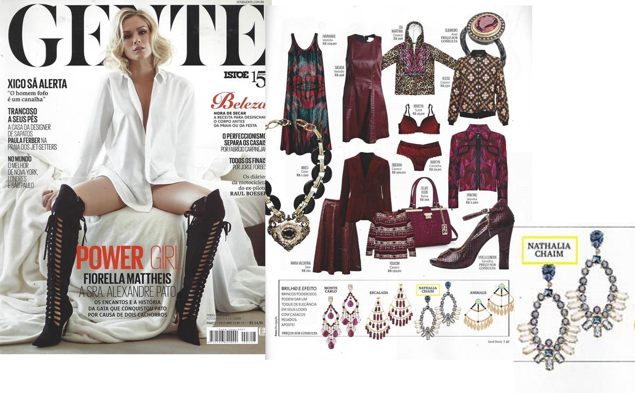 Mar 2015 | Revista Isto é Gente