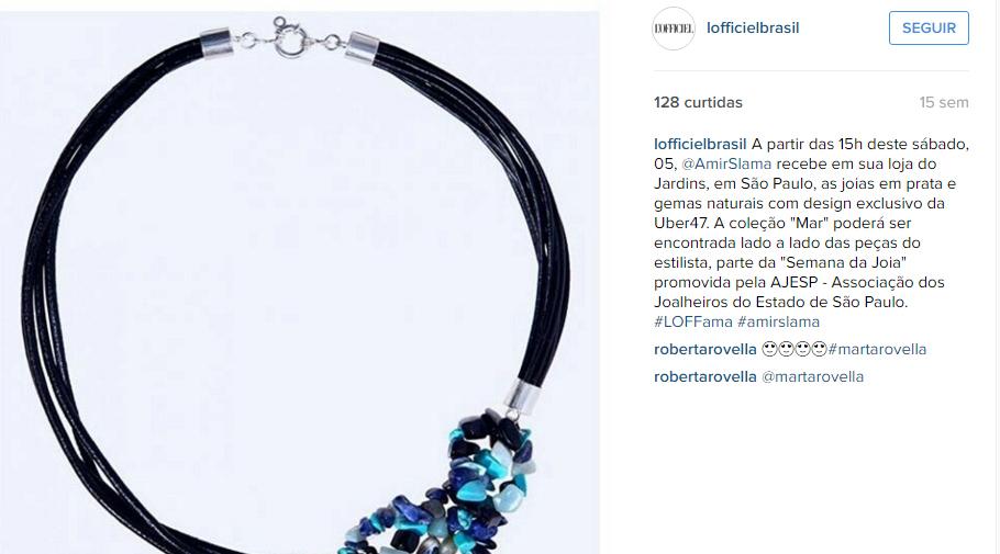 05/12/2015 | Instagram da L'Officiel