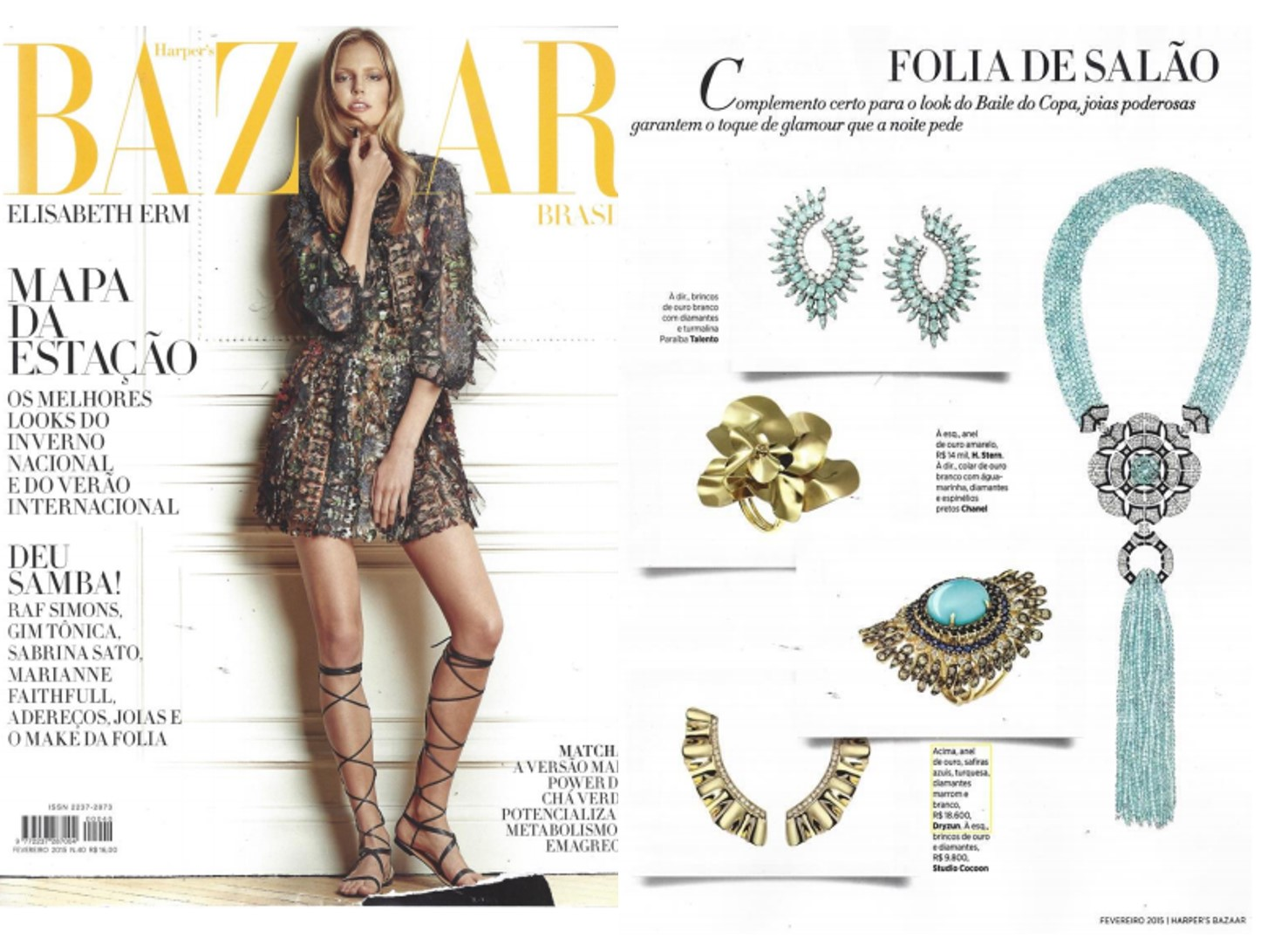 Fev/2015 | Revista Harper's Bazaar