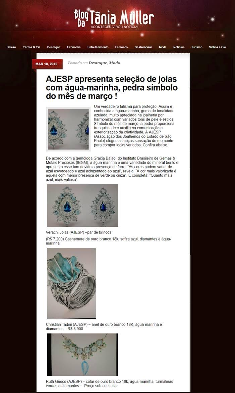 18/03/2016 | Blog da Tânia Muller