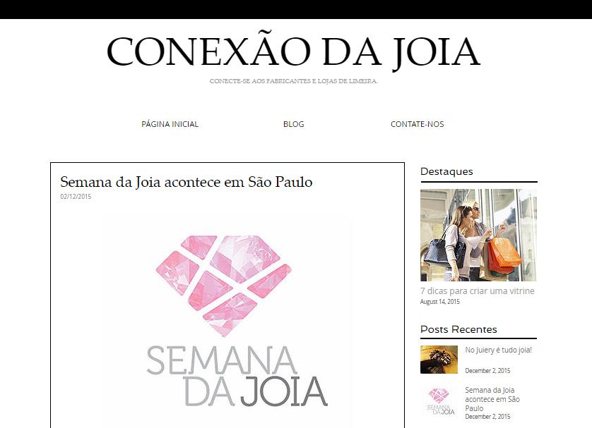 02/12/2015 | Conexão da Joia