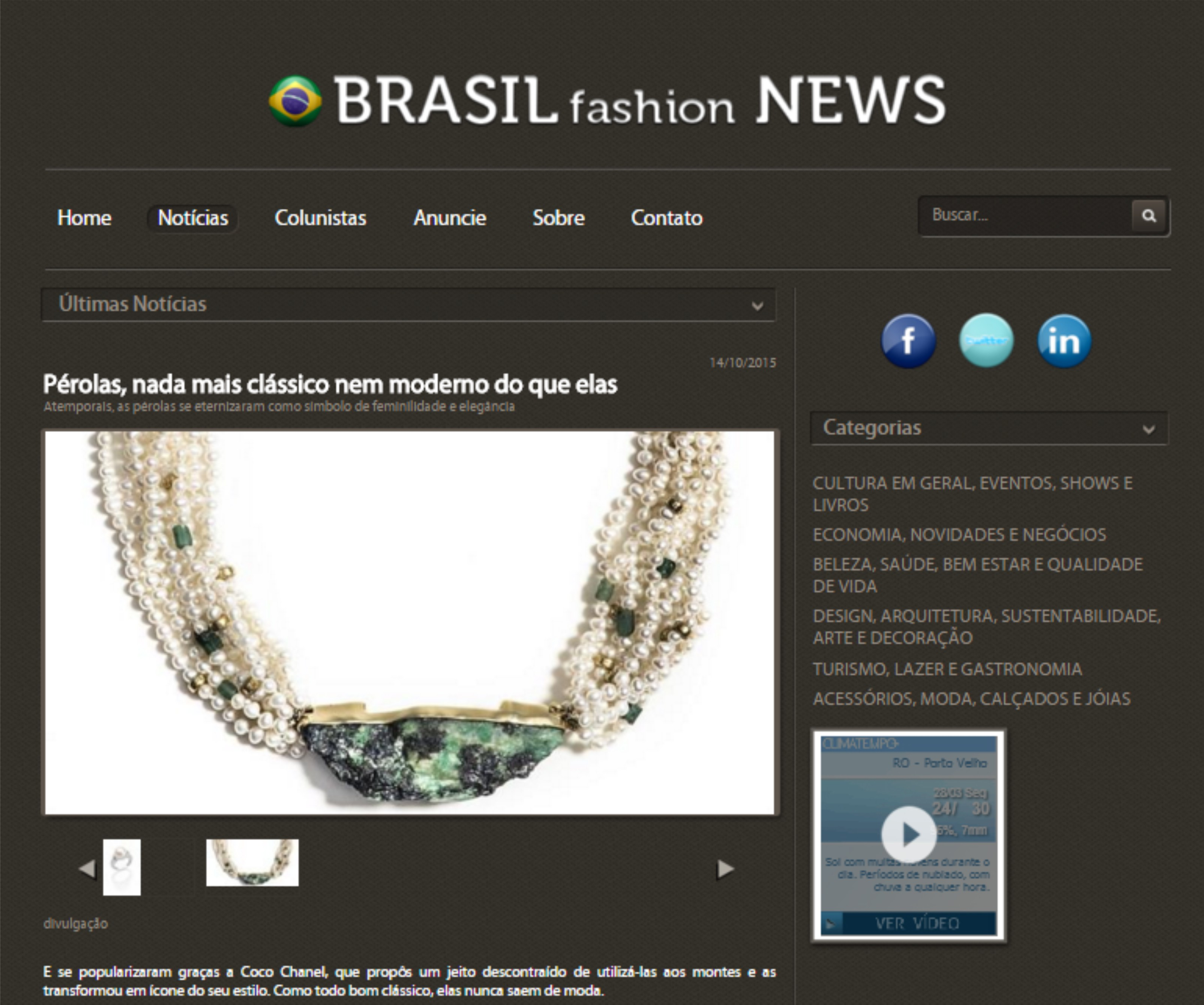 14/10/2016 | Brasil Fashion News