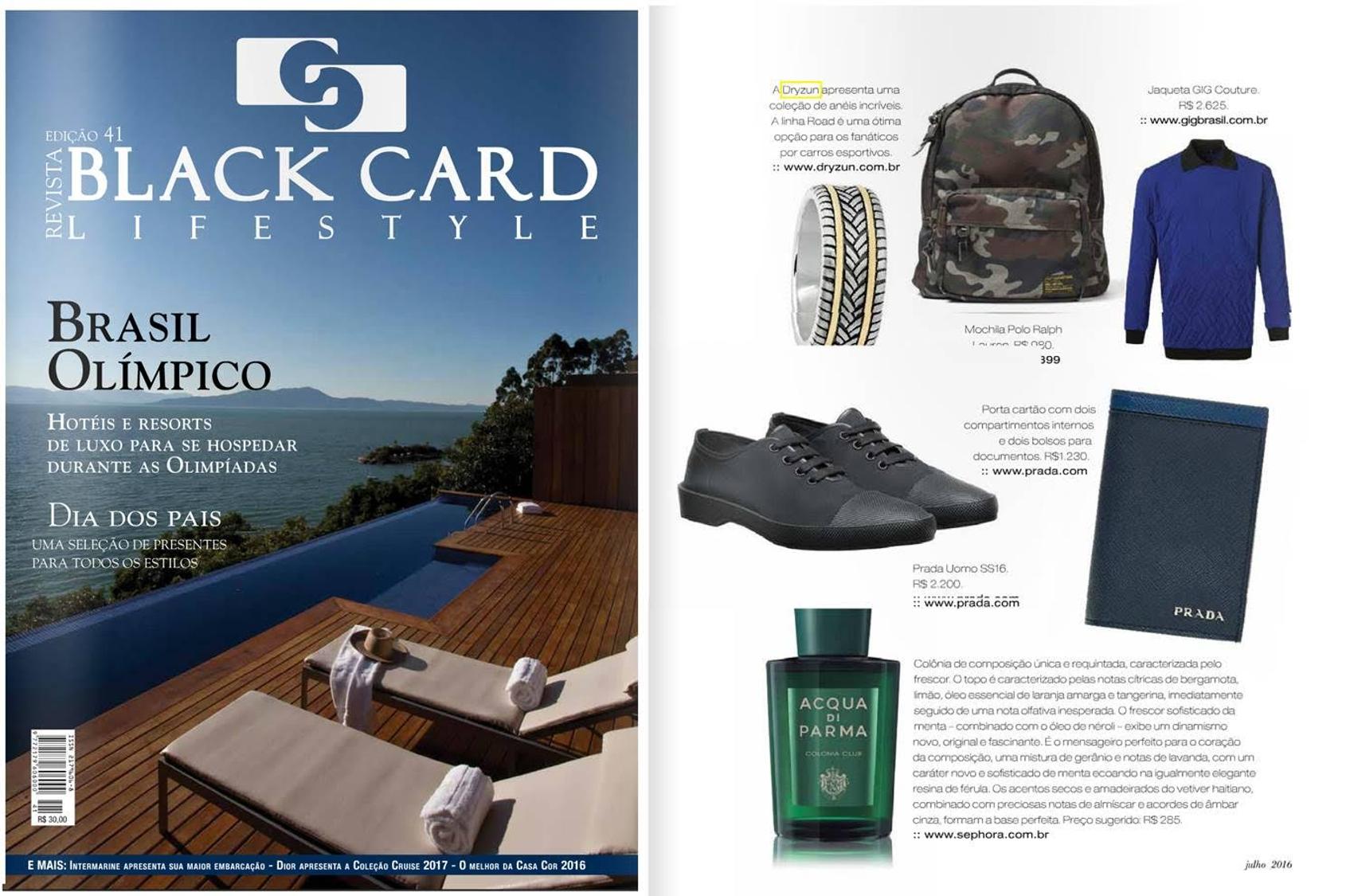 Jul-Ago 2016 | Revista BlackCard