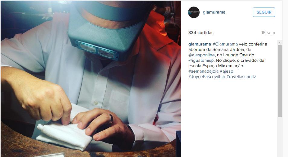 30/11/2015 | Instagram Glamurama