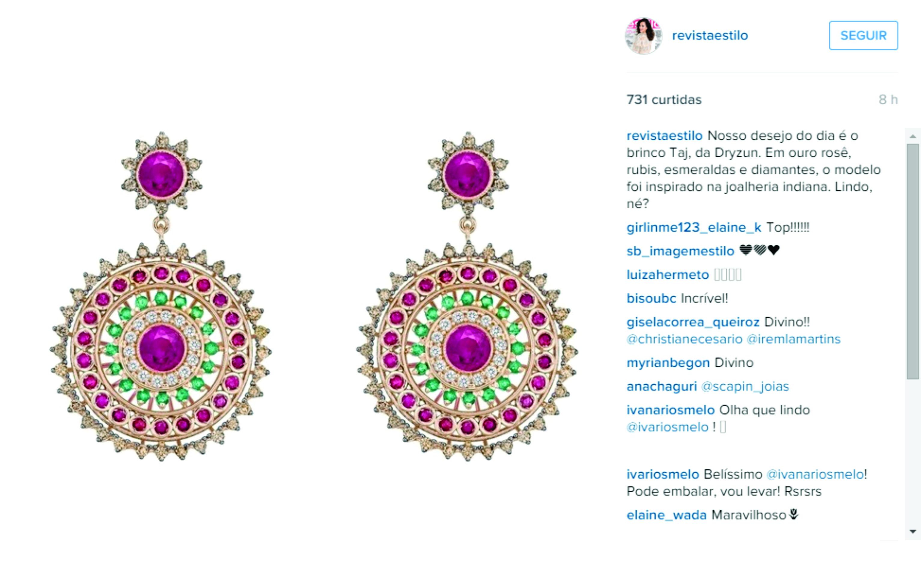 Jun 2015 | Instagram Revista Estilo