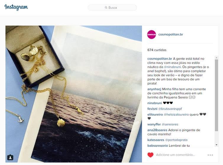 11/02/2016 | Instagram Cosmopolitan