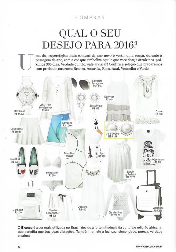Dez 2015 | Revista Absoluta