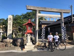 鈴鹿市 F1レーサーの聖地 勝速日神社で平和安全祈願