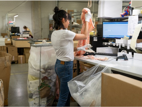 How They Did It: Using Trackers to Investigate Where Unwanted Clothing Ends Up