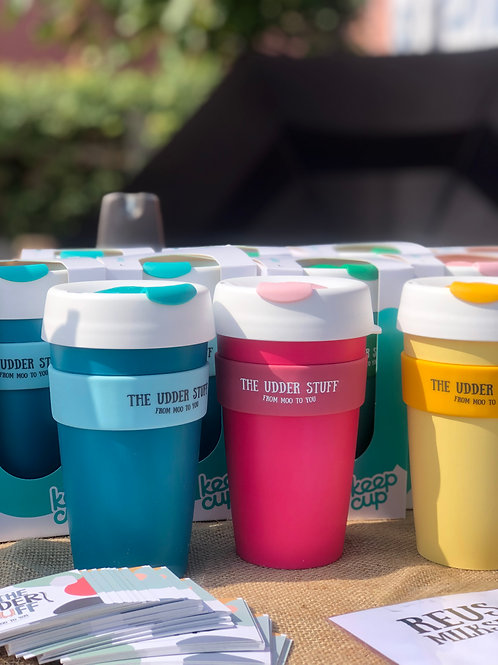 Reusable milkshake cup