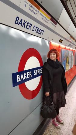 Vaimon kanssa Lontoossa