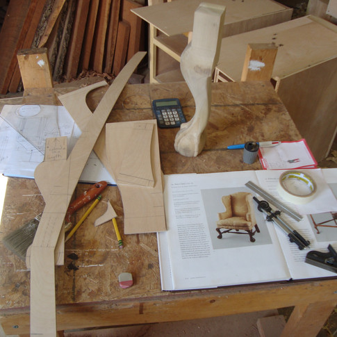 designing the chair