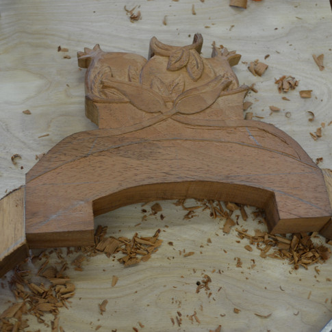 carving the fruit basket