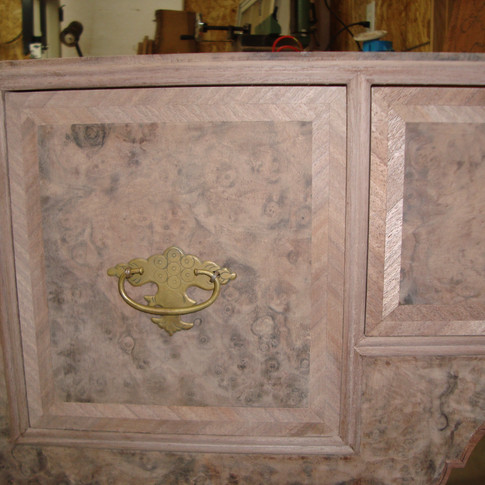 drawers without a finish