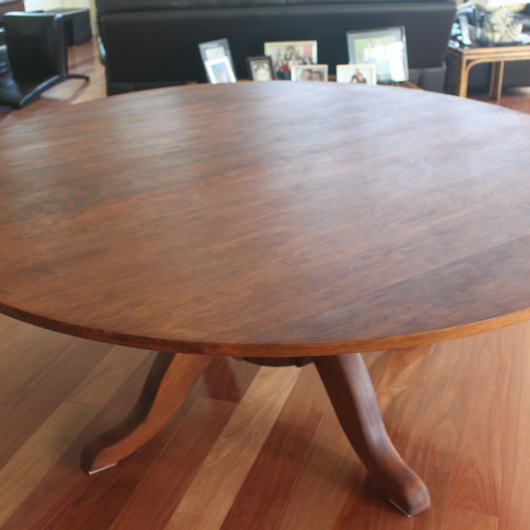 table in owners' home