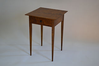 Tapered Leg Shaker Nightstand