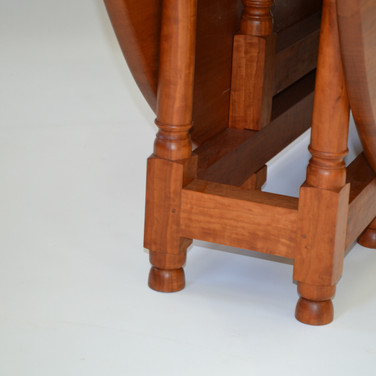 detail of legs and joinery