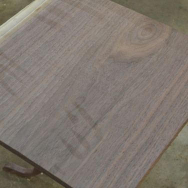 hand planed single wide board for top