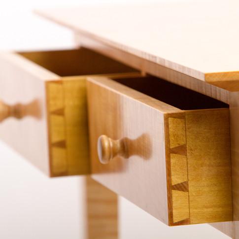 detail of drawers