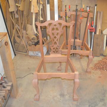 chair backs glued up