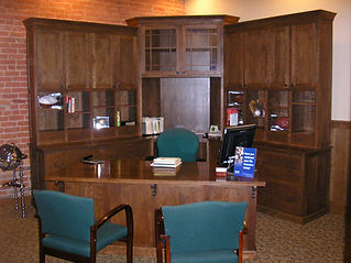 Edward Jones Desk and Credenza