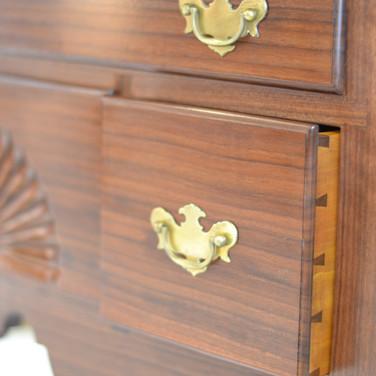 detail of drawer