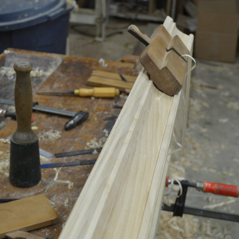 shaping crown molding