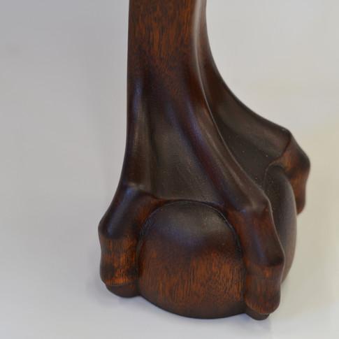 detail of foot
