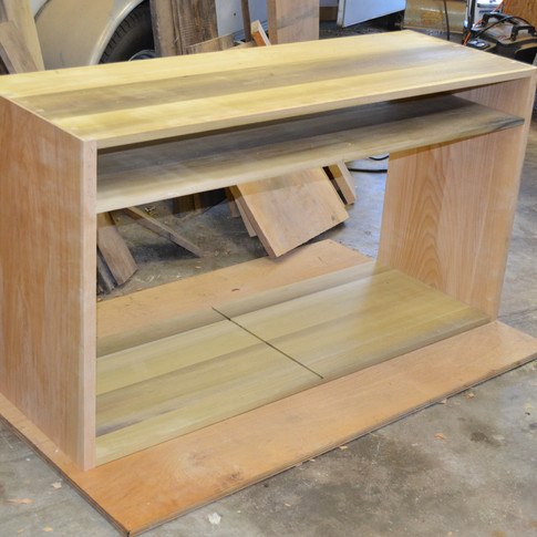 lower case dovetailed together