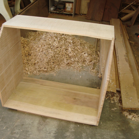 carcase dovetailed together