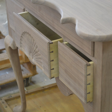 handcut dovetail joints