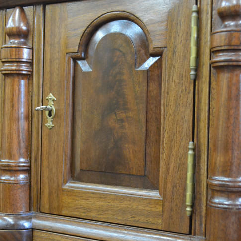 crotch Walnut prospect door