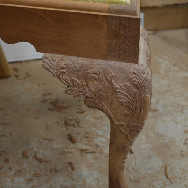 Finished Knee Carving