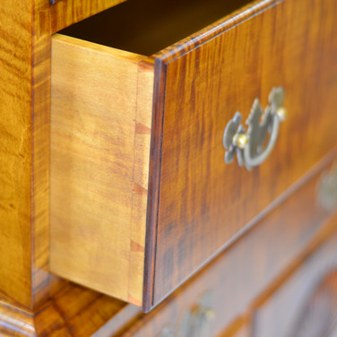 detail of drawer joinery