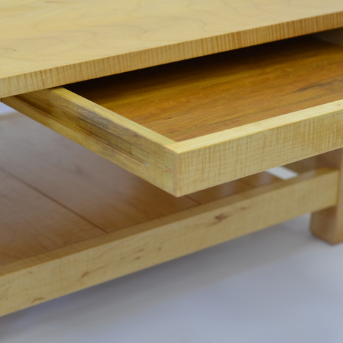 detail of finished drawer
