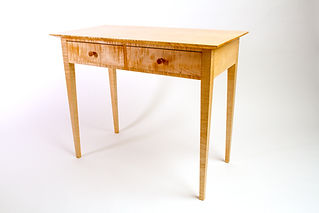 Shaker Double Drawer Table