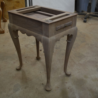 table without top
