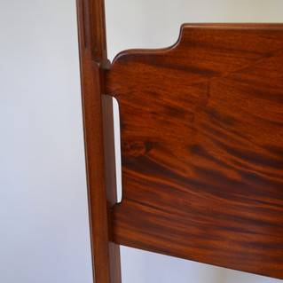 detail of headboard joints