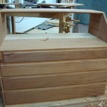 case with drawers and lopers fit