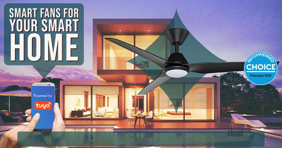 Smart Fans for your Smart Home