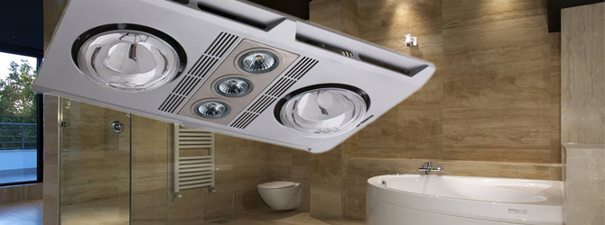 Bathroom 3-in-1 Heaters