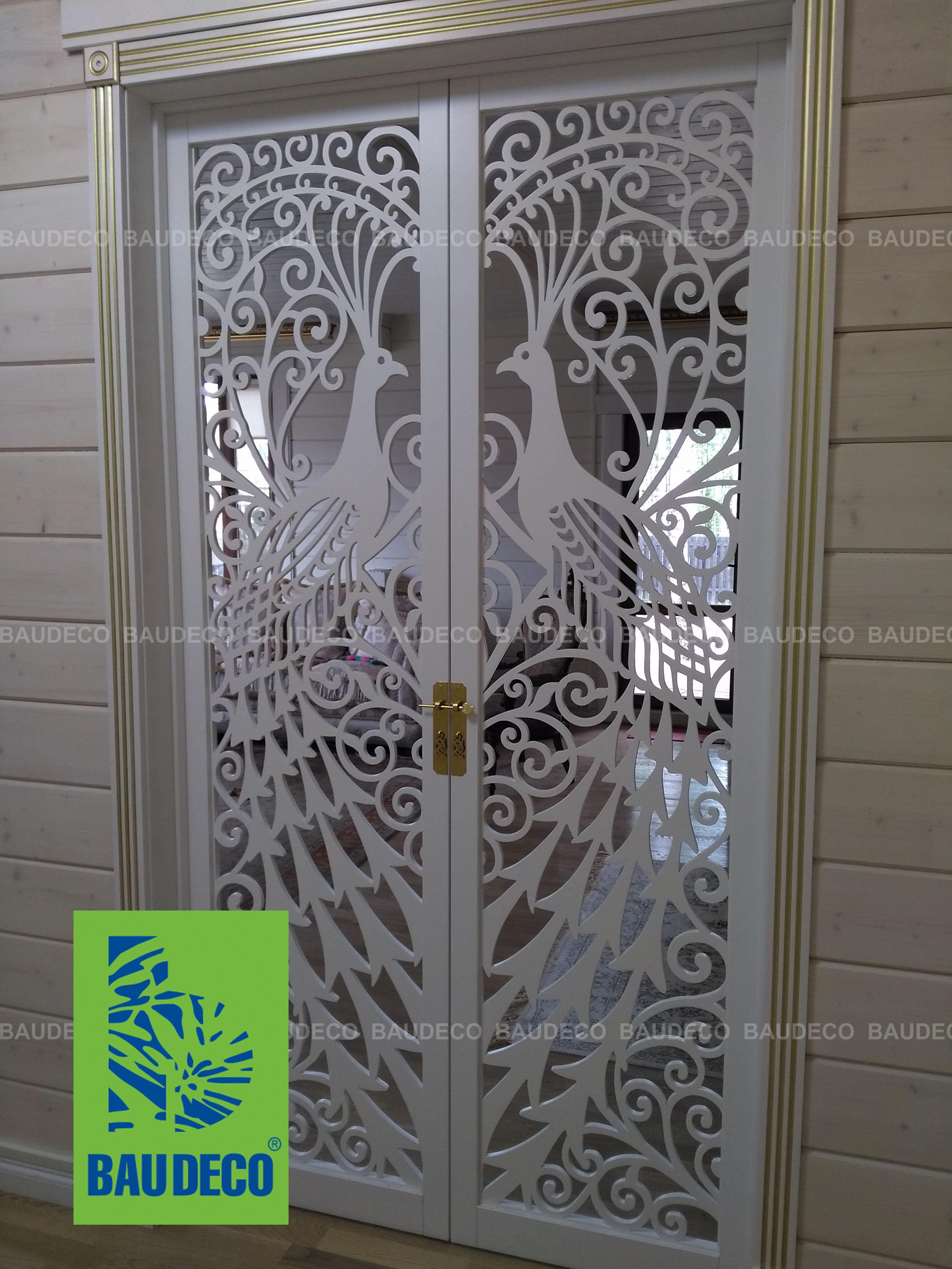 Декоративные раздвижные межкомнатные двери