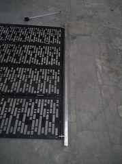 Раздвижные перегородки из металла
