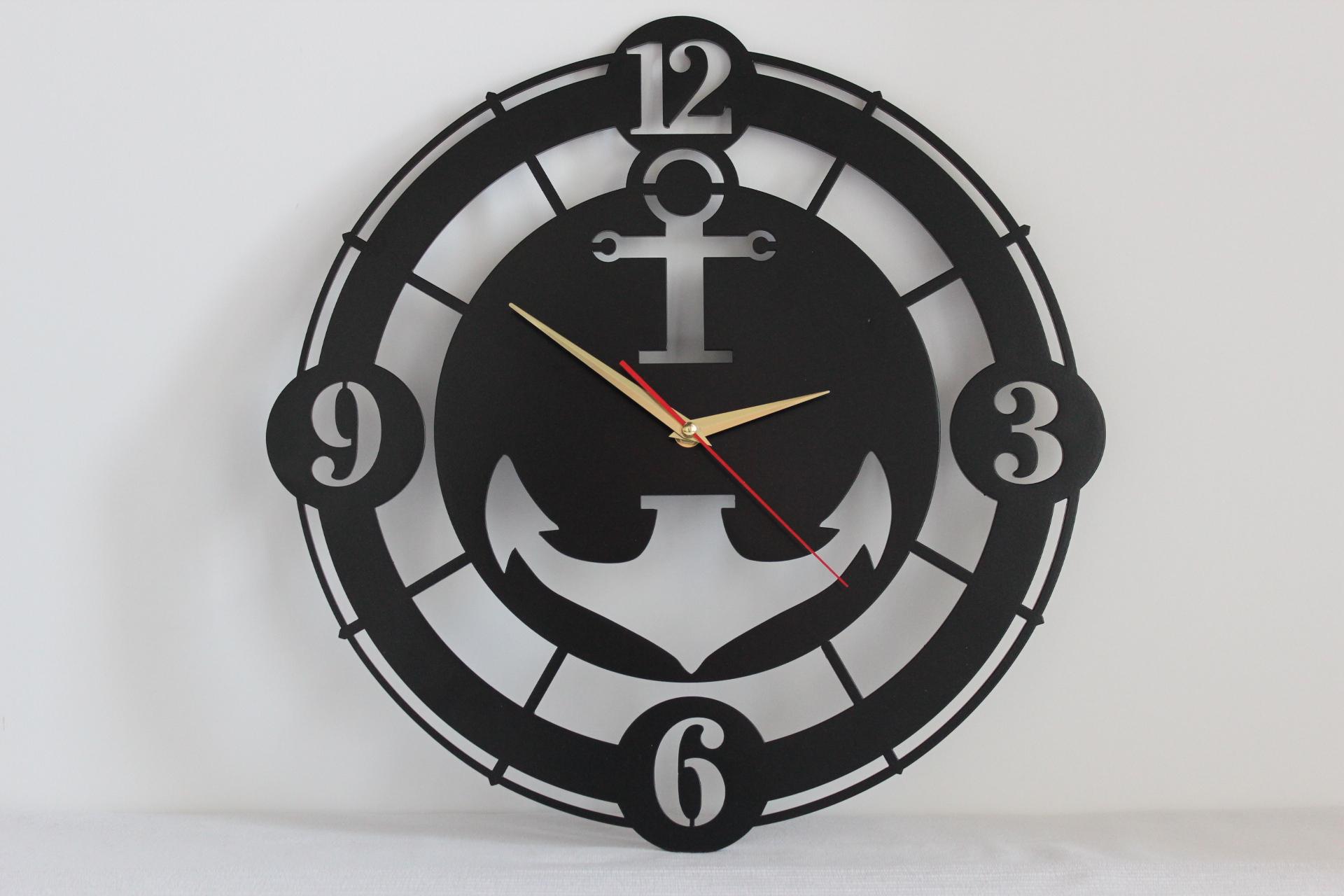 Большие часы на стену фото
