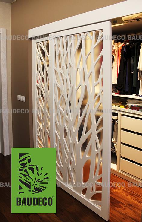 Раздвижные двери для гардероба